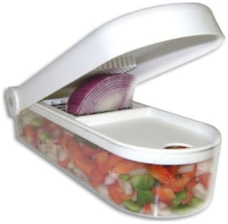Vegetable And Fruit Chopper Cutter With Free Chop Blade With Cleaning Tool