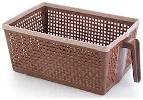 Vegetable And Fruit Frill Basket(Dark Brown)