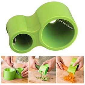 Vegetable Cutter, Spiral Slicer, Vegetable Spiralizer, Noodle Cutter And Pasta Maker (2*Slicer Sharpener) - HH2265