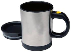 Vendy Self Stirring Coffee Mixing Drinking Cup Stainless Steel Mug