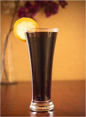Verma New Transparent Beer/Water/Juice Glass Set, 400ml, ( Pack Of 1 )
