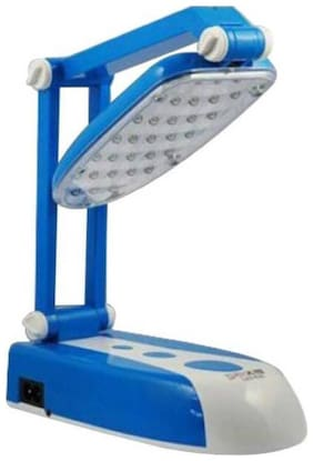 Vibama 31 Led Folding Rechargeable Lamp Light Foldable Table Study Night Ac Studying Study Lamp Emergency Light 10W