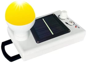 Vibama G K Bhaskar 04 Solar With Night Bulb Rechargeable Emergency Light 4W