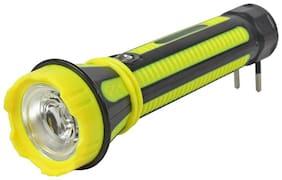 Vibama G K Long Range Double Side Light 10W Led Rechargeable Waterproof & Ultra Bright Flashlight Jy-Super Torch