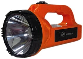 Vibama Rp-769WS Solar Rechargeable 10 Watt Long Beam Search Light With Cob Led Emergency With Long Battery Backup Torch
