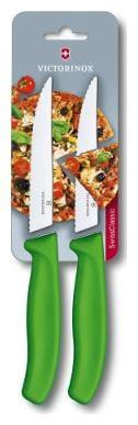 Victorinox Wavy Pizza Knife Set Swiss Classic 6.7936.12L4