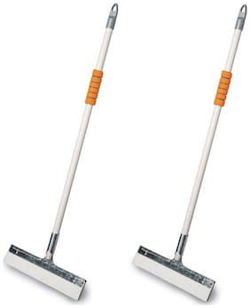 Vimal Ecowipe 300 Regular Size Bathroom Floor Cleaning Wipers Set of 2