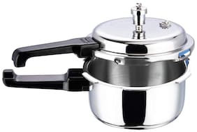Vinod Cookware Platinum Triply Induction Friendly Pressure Cooker 3 L