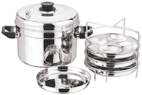 Vinod Stainless Steel Multi Pot  Large(Induction Friendly)