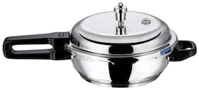 Vinod Cookware Stainless Steel 2.5 L Induction Bottom Outer Lid Pressure Cooker - Set of 1 ,