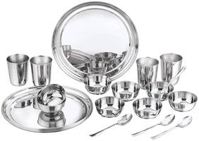 Vinod Kraft Stainless Steel Princess Dinner Set;20 pcs