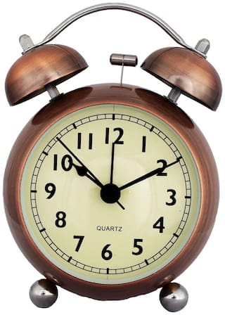 E-DEAL Copper Alarm clock
