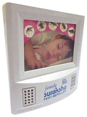 Virgin Plastic White Pest Repeller Cum Night Lamp