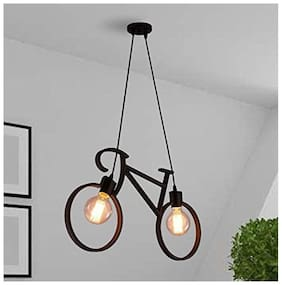 Vitage Antique Edison Cycle shape Hanging lamp with Edison filament bulb ceiling pendent lamp