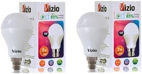 Vizio 7 Watt Premium Quality LED Bulb (Set of 2) with 6 Months warranty