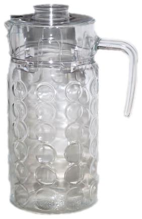 VJ Glass Water Jug 1.85 Litre;Transparent