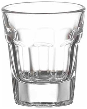Vodka Shot Glass Set of 6 Heavy Base Straight/Tequila Shot Glass Set/Shot Glasses - 55 ml