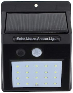 Vonc 20 LEDs Bright Waterproof Solar Wireless Security Motion Sensor Night Light or Outdoor/Garden Wall Solar Sensor Light