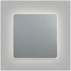 "VONN Lighting VMW13400AL Eclipse Square 7"" LED Wall Sconce Silver"