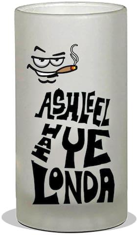 Vratim Frosted Beer Mug;Cocktail party;Beer Party;Beer Mug;Beer Glass;Drinking Party;Birthday Party;Party & Celebration With Lovely Quotes/Design;Ashleel hai Ye Londa;600 ml Beer Mug Multicolor