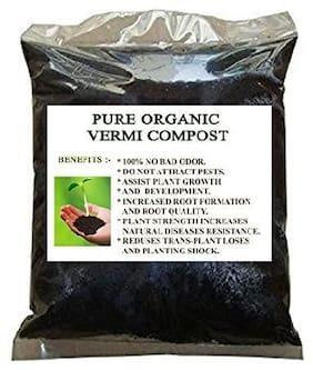 VROY@LS PRIDE Vermicompost Organic Fertilizer Coco Manure for Plant Garden 500 g