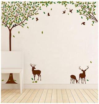 Wall Sticker (nature,PVC Vinyl,91*81 cm)