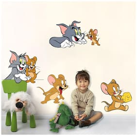 Wall Sticker (Caption america,PVC Vinyl,33*55 cm)