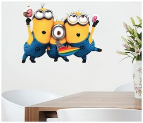 STICKER STUDIO Printed Wall sticker ( Set of 1 )