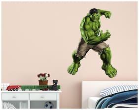 Wall Stickers Superhero Hulk Cartoon Design For Kids Baby Boys Room Vinyl