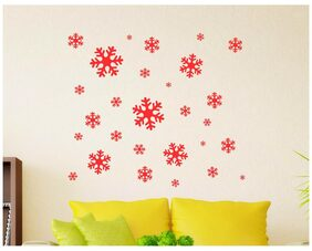 Wall Stickers Christmas Twinkling Stars