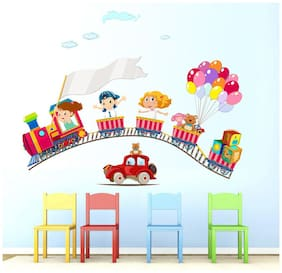 wall wings A Toy Train Vehicles & Transportation Vehicles & Transportation PVC  Sticker