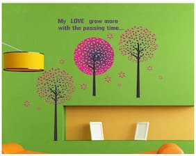 wall wings Colorful tree with leaf Nature Nature PVC  Sticker