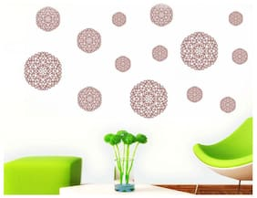 Wall Wings Creative Design in Circle Wall Sticker