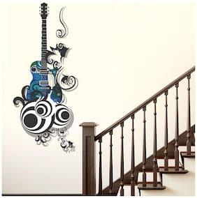 wall wings Guitar  Music Music PVC  Sticker