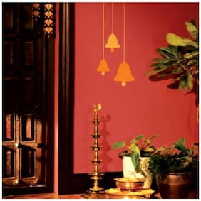 Wall Wings Holy Temple Bells Wall Sticker