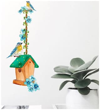 wall wings Hanging Home Floral Floral PVC  Sticker