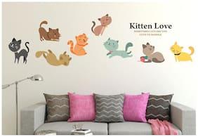 Wall Wings Kittens Love Wall Sticker/Stickers