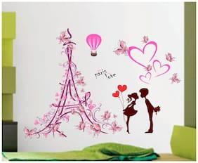 Wall wings Love in paris