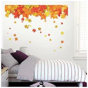 Wall Wings Maple Tree Leaves Wall Sticker