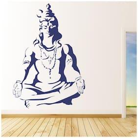 wall wings Meditating shiva Religious & Inspirational Religious & Inspirational PVC  Sticker