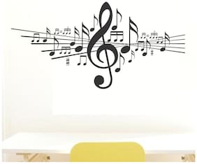 wall wings Music notes Music Music PVC  Sticker