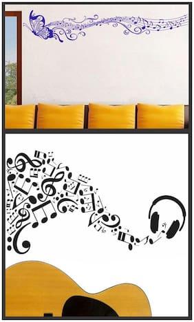Wall wings Music wiyh Swing butterfly