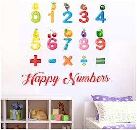 wall wings Numbers for kids Alphabet Alphabet PVC  Sticker