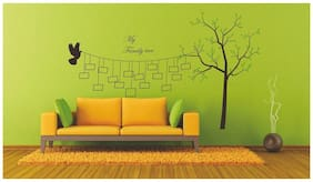 Wall Wings Photo Frame Famil Tree Bird Wall Sticker
