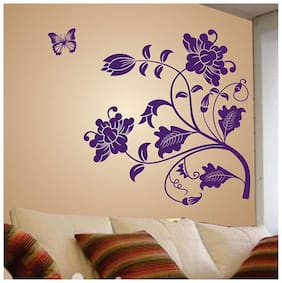 Wall Wings Printed Wall sticker ( Set of 1 )