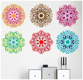 wall wings Rangaloli  Abstract Abstract PVC  Sticker