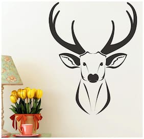 Wall Wings Stag/Deer In Abstract - Vector Art Wall Sticker/Decals (57112)
