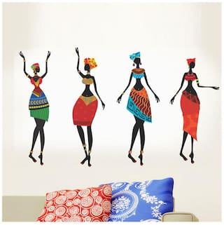 Wall Wings Abstract Wall sticker ( Set of 1 )