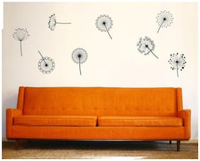 wall wings The dandelion fly Abstract Abstract PVC  Sticker