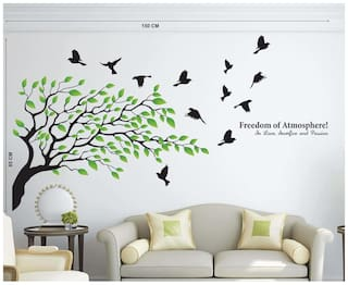 Wall Wings Tree with freedom of atmosphere Wall Sticker/Stickers